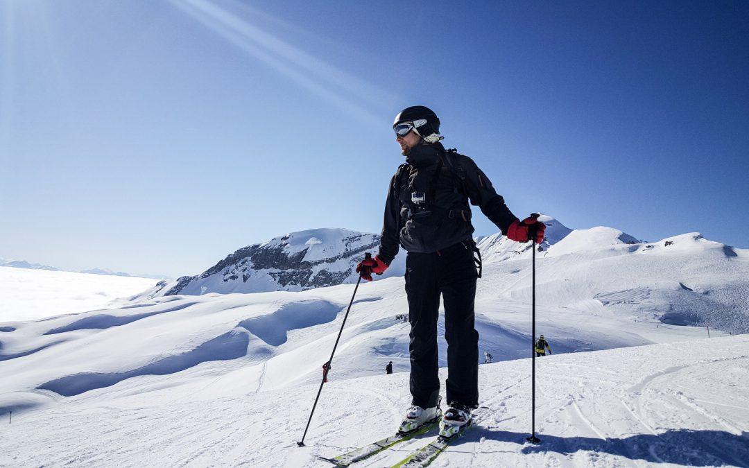 Ho un ginocchio non perfetto: posso sciare?
